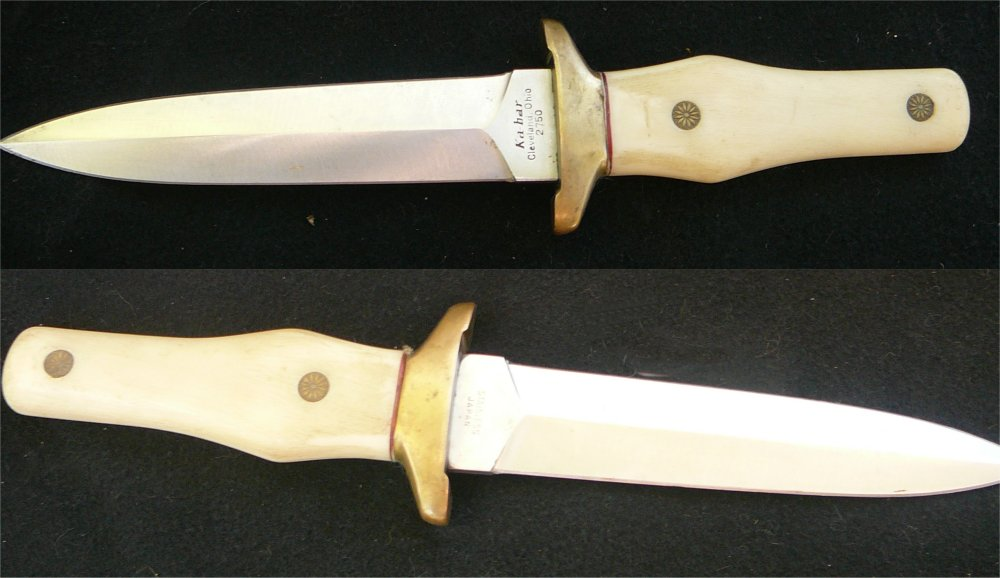 Ka bar boot knife 28 images vintage ka bar 2752 for Ka che vintage look